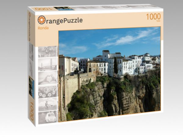 """Puzzle Motiv """"Ronda"""" - Puzzle-Schachtel zu 1000 Teile Puzzle"""