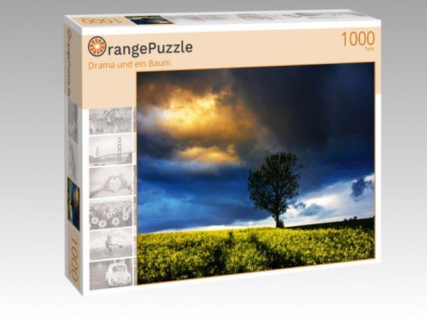 """Puzzle Motiv """"Drama und ein Baum"""" - Puzzle-Schachtel zu 1000 Teile Puzzle"""