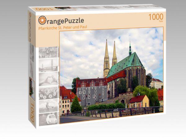 """Puzzle Motiv """"Pfarrkirche St. Peter und Paul"""" - Puzzle-Schachtel zu 1000 Teile Puzzle"""