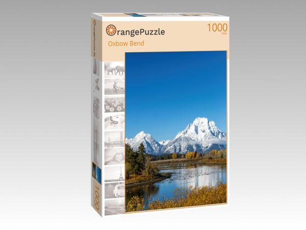 """Puzzle Motiv """"Oxbow Bend"""" - Puzzle-Schachtel zu 1000 Teile Puzzle"""