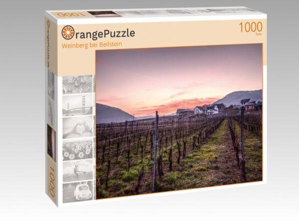 """Puzzle Motiv """"Weinberg bei Beilstein"""" - Puzzle-Schachtel zu 1000 Teile Puzzle"""