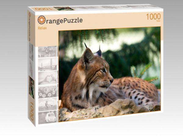 """Puzzle Motiv """"Relax"""" - Puzzle-Schachtel zu 1000 Teile Puzzle"""