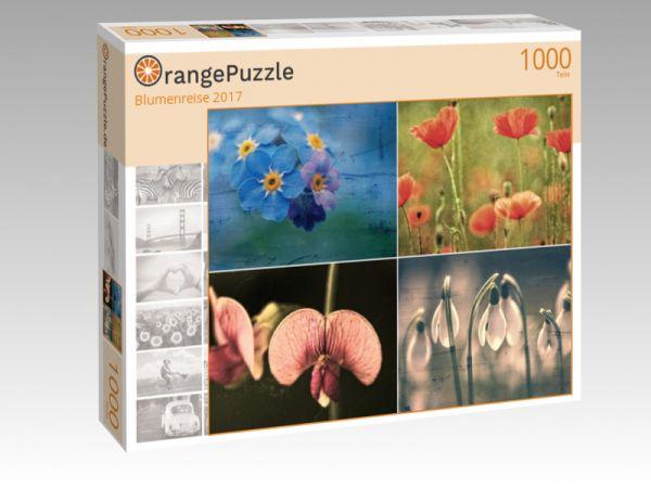 "Puzzle Motiv ""Blumenreise 2017"" - Puzzle-Schachtel zu 1000 Teile Puzzle"