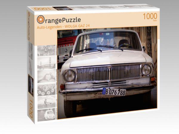 """Puzzle Motiv """"""""Auto-Legenden - WOLGA GAZ 24"""""""" - Puzzle-Schachtel zu 1000 Teile Puzzle"""