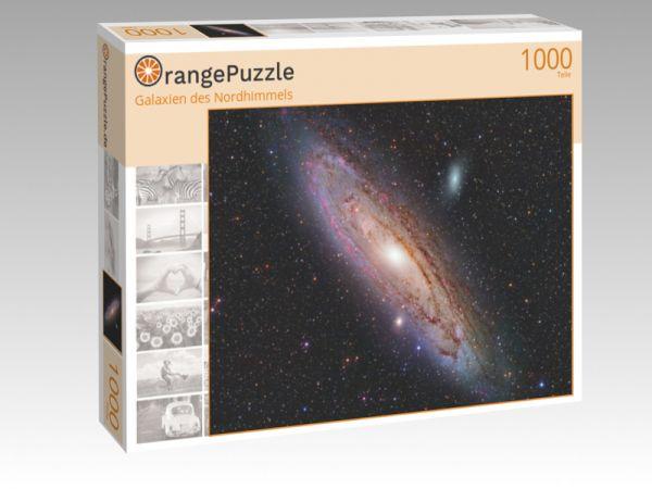 """Puzzle Motiv """"Galaxien des Nordhimmels"""" - Puzzle-Schachtel zu 1000 Teile Puzzle"""