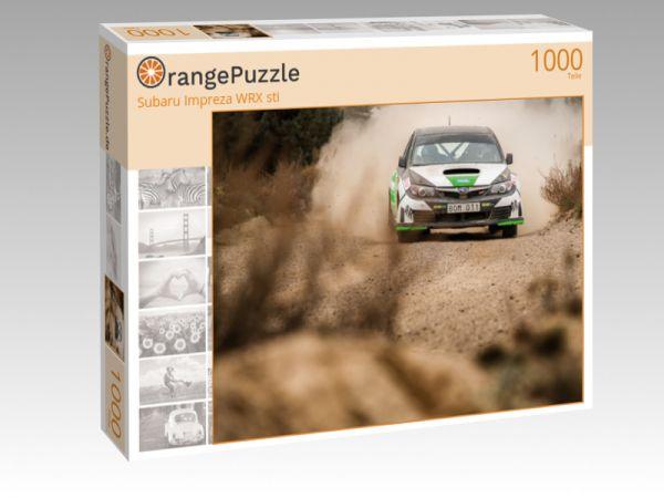 "Puzzle Motiv ""Subaru Impreza WRX sti"" - Puzzle-Schachtel zu 1000 Teile Puzzle"