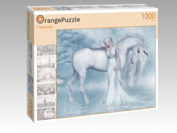 "Puzzle Motiv ""Traumsee"" - Puzzle-Schachtel zu 1000 Teile Puzzle"