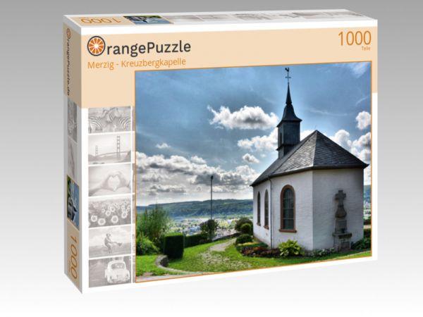 """Puzzle Motiv """"Merzig - Kreuzbergkapelle"""" - Puzzle-Schachtel zu 1000 Teile Puzzle"""
