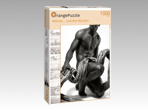 """Puzzle Motiv """"Männer... und ihre Wurzeln"""" - Puzzle-Schachtel zu 1000 Teile Puzzle"""