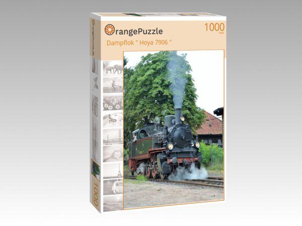"""Puzzle Motiv """"Dampflok """" Hoya 7906 """""""" - Puzzle-Schachtel zu 1000 Teile Puzzle"""