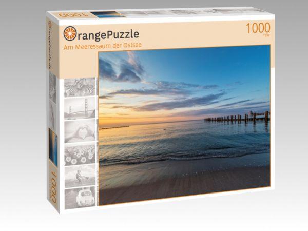 """Puzzle Motiv """"Am Meeressaum der Ostsee"""" - Puzzle-Schachtel zu 1000 Teile Puzzle"""