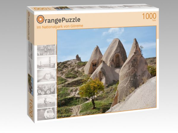 """Puzzle Motiv """"Im Nationalpark von Göreme"""" - Puzzle-Schachtel zu 1000 Teile Puzzle"""