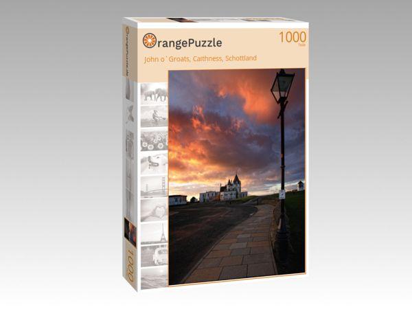 """Puzzle Motiv """"John o`Groats, Caithness, Schottland"""" - Puzzle-Schachtel zu 1000 Teile Puzzle"""