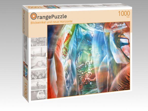 """Puzzle Motiv """"Blickwinkel und neue Horizonte"""" - Puzzle-Schachtel zu 1000 Teile Puzzle"""