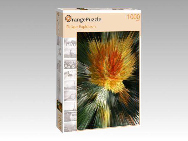 """Puzzle Motiv """"Flower Explosion"""" - Puzzle-Schachtel zu 1000 Teile Puzzle"""