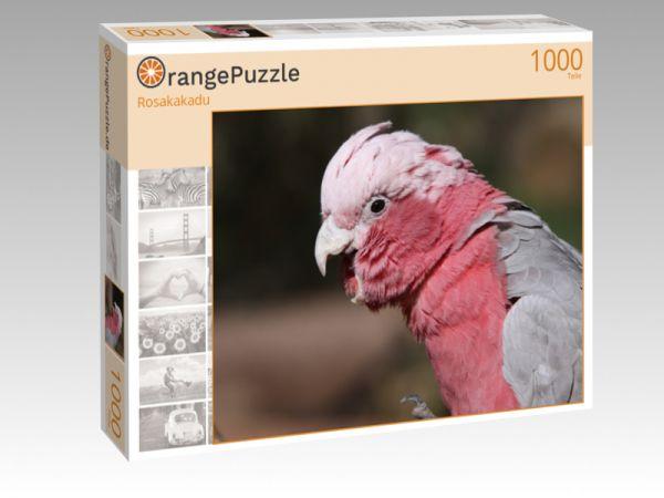 "Puzzle Motiv ""Rosakakadu"" - Puzzle-Schachtel zu 1000 Teile Puzzle"