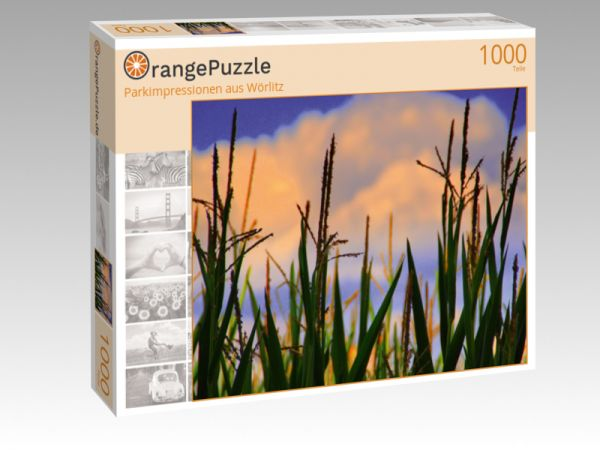 "Puzzle Motiv ""Parkimpressionen aus Wörlitz"" - Puzzle-Schachtel zu 1000 Teile Puzzle"