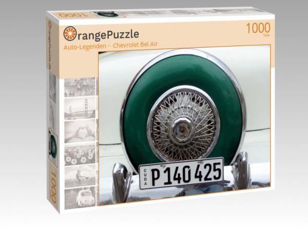 """Puzzle Motiv """"""""Auto-Legenden -  Chevrolet Bel Air"""""""" - Puzzle-Schachtel zu 1000 Teile Puzzle"""