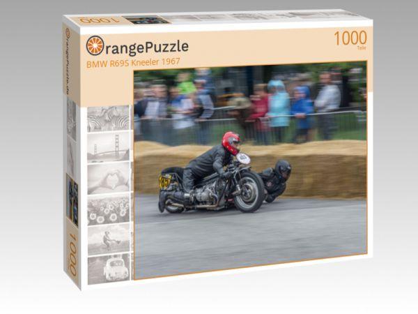 """Puzzle Motiv """"BMW R69S Kneeler 1967"""" - Puzzle-Schachtel zu 1000 Teile Puzzle"""