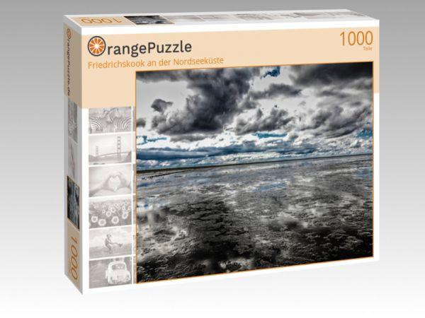 """Puzzle Motiv """"Friedrichskook an der Nordseeküste"""" - Puzzle-Schachtel zu 1000 Teile Puzzle"""