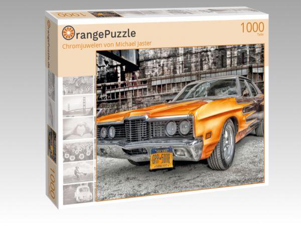 "Puzzle Motiv ""Chromjuwelen von Michael Jaster"" - Puzzle-Schachtel zu 1000 Teile Puzzle"
