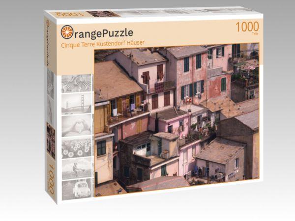 """Puzzle Motiv """"Cinque Terre Küstendorf Häuser"""" - Puzzle-Schachtel zu 1000 Teile Puzzle"""
