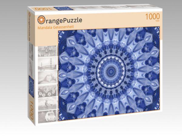 """Puzzle Motiv """"Mandala Gelassenheit"""" - Puzzle-Schachtel zu 1000 Teile Puzzle"""