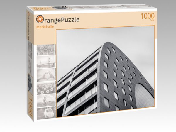 "Puzzle Motiv ""Markthalle"" - Puzzle-Schachtel zu 1000 Teile Puzzle"