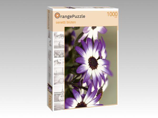 """Puzzle Motiv """"senetti blüten"""" - Puzzle-Schachtel zu 1000 Teile Puzzle"""