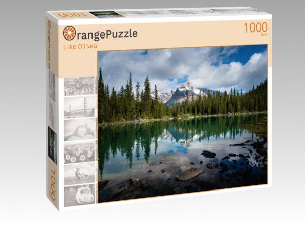 "Puzzle Motiv ""Lake O'Hara"" - Puzzle-Schachtel zu 1000 Teile Puzzle"
