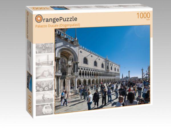 """Puzzle Motiv """"Palazzo Ducale (Dogenpalast)"""" - Puzzle-Schachtel zu 1000 Teile Puzzle"""