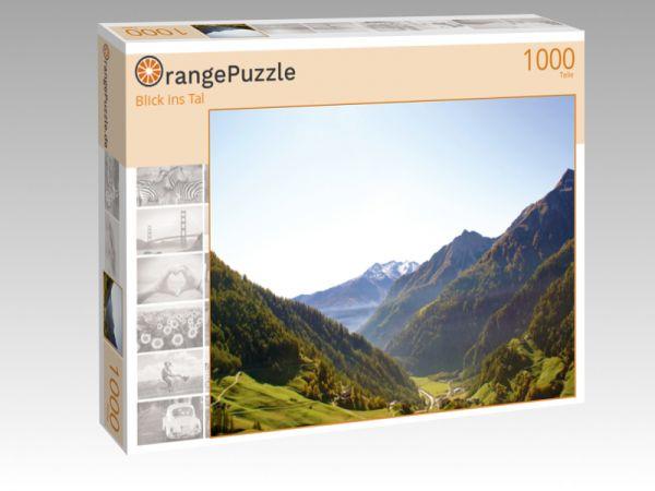 """Puzzle Motiv """"Blick ins Tal"""" - Puzzle-Schachtel zu 1000 Teile Puzzle"""