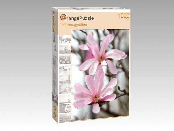 """Puzzle Motiv """"Sternmagnolien"""" - Puzzle-Schachtel zu 1000 Teile Puzzle"""