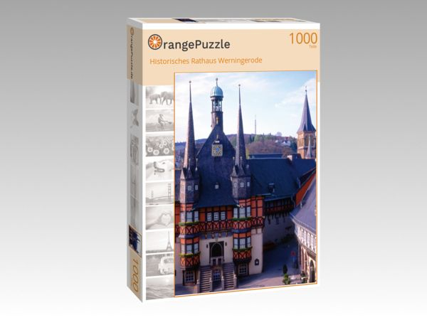"Puzzle Motiv ""Historisches Rathaus Werningerode"" - Puzzle-Schachtel zu 1000 Teile Puzzle"