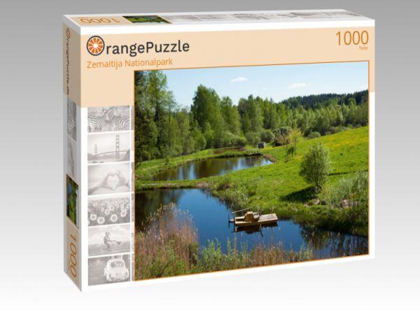 """Puzzle Motiv """"Zemaitija Nationalpark"""" - Puzzle-Schachtel zu 1000 Teile Puzzle"""