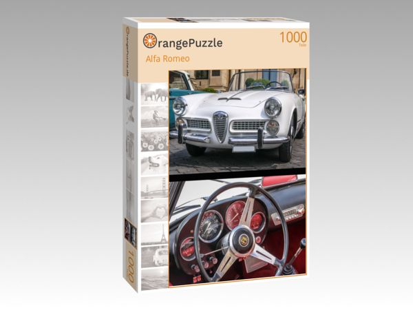 "Puzzle Motiv ""Alfa Romeo"" - Puzzle-Schachtel zu 1000 Teile Puzzle"