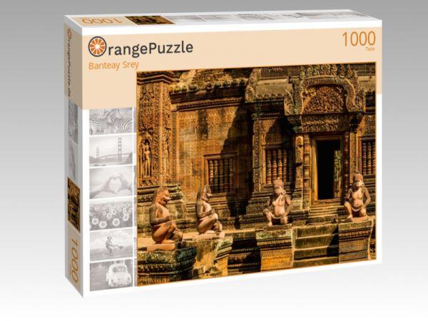 """Puzzle Motiv """"Banteay Srey"""" - Puzzle-Schachtel zu 1000 Teile Puzzle"""