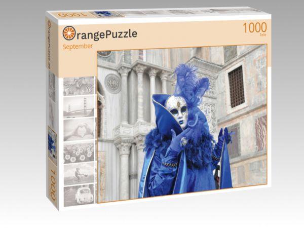 """Puzzle Motiv """"September"""" - Puzzle-Schachtel zu 1000 Teile Puzzle"""
