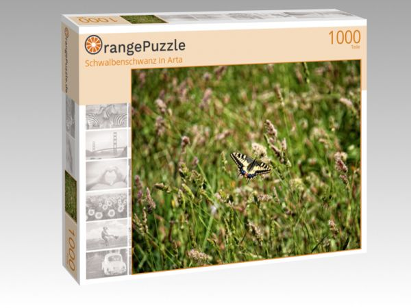 """Puzzle Motiv """"Schwalbenschwanz in Arta"""" - Puzzle-Schachtel zu 1000 Teile Puzzle"""