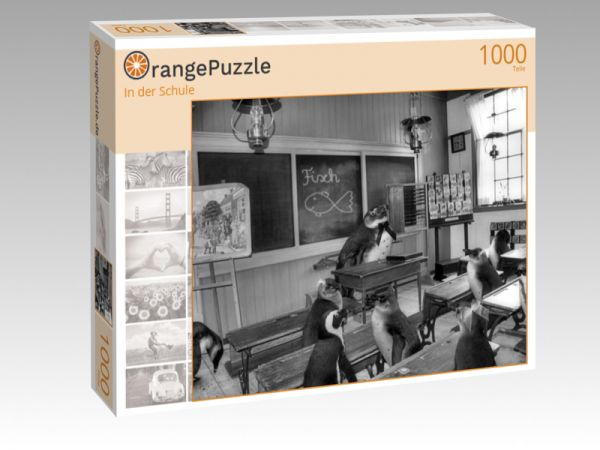 "Puzzle Motiv ""In der Schule"" - Puzzle-Schachtel zu 1000 Teile Puzzle"