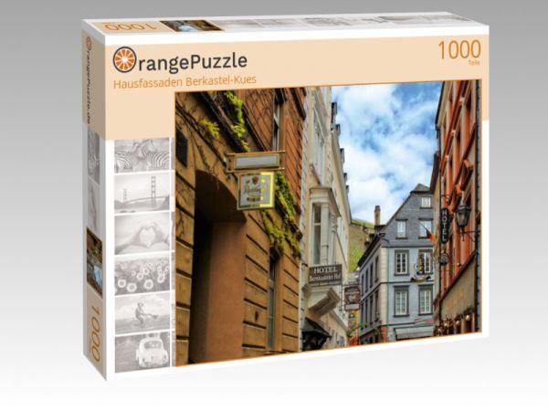 "Puzzle Motiv ""Hausfassaden Berkastel-Kues"" - Puzzle-Schachtel zu 1000 Teile Puzzle"