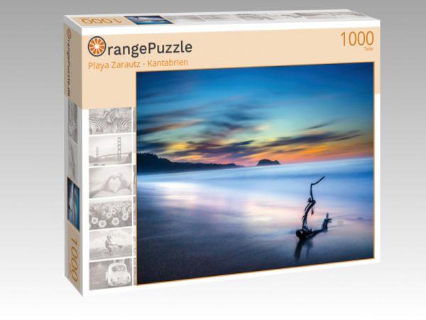 """Puzzle Motiv """"Playa Zarautz - Kantabrien"""" - Puzzle-Schachtel zu 1000 Teile Puzzle"""