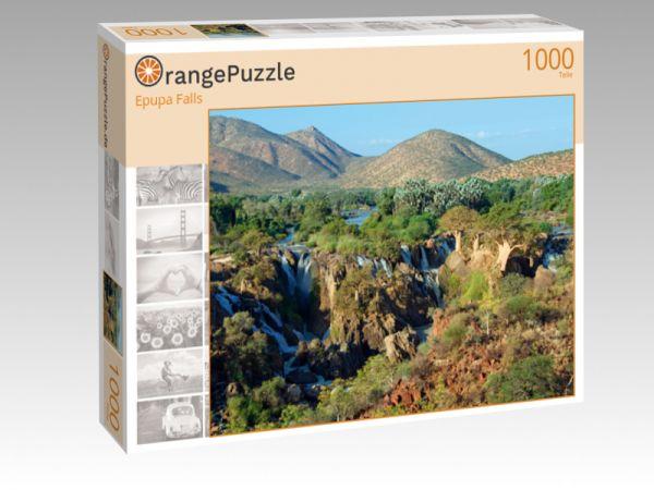 """Puzzle Motiv """"Epupa Falls"""" - Puzzle-Schachtel zu 1000 Teile Puzzle"""