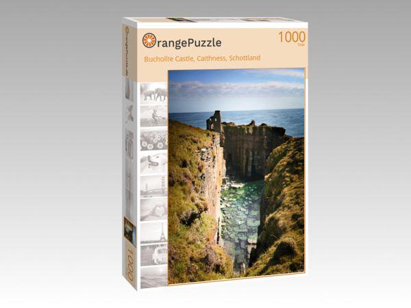 """Puzzle Motiv """"Buchollie Castle, Caithness, Schottland"""" - Puzzle-Schachtel zu 1000 Teile Puzzle"""