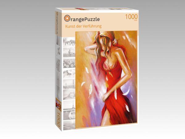 """Puzzle Motiv """"Kunst der Verführung"""" - Puzzle-Schachtel zu 1000 Teile Puzzle"""
