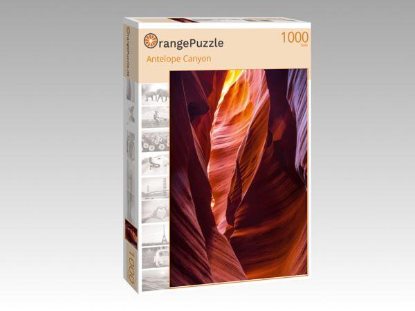 """Puzzle Motiv """"Antelope Canyon"""" - Puzzle-Schachtel zu 1000 Teile Puzzle"""