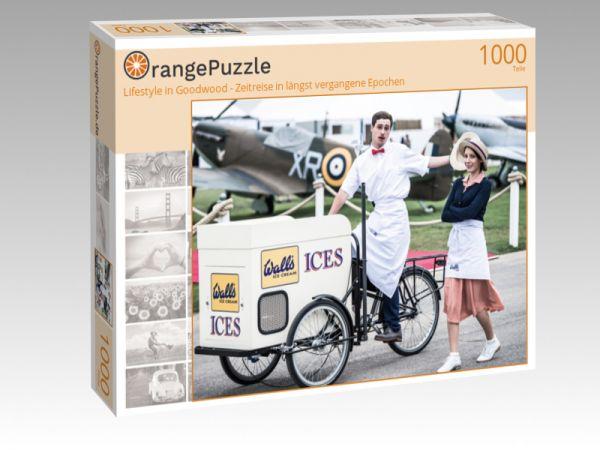 """Puzzle Motiv """"Lifestyle in Goodwood - Zeitreise in längst vergangene Epochen"""" - Puzzle-Schachtel zu 1000 Teile Puzzle"""