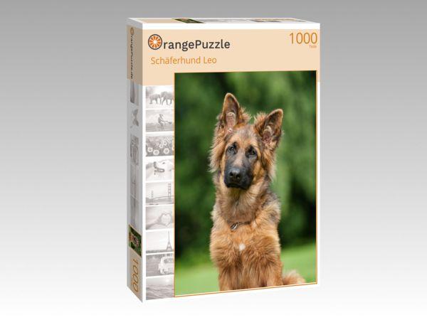 """Puzzle Motiv """"Schäferhund Leo"""" - Puzzle-Schachtel zu 1000 Teile Puzzle"""