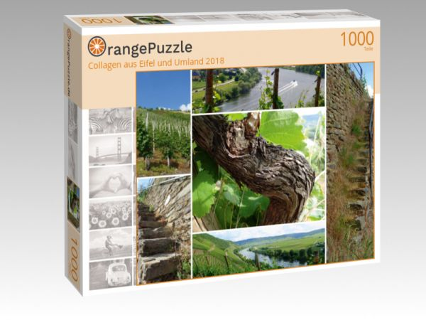 """Puzzle Motiv """"Collagen aus Eifel und Umland 2018"""" - Puzzle-Schachtel zu 1000 Teile Puzzle"""