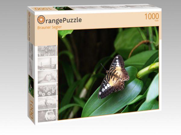 """Puzzle Motiv """"Brauner Segler"""" - Puzzle-Schachtel zu 1000 Teile Puzzle"""